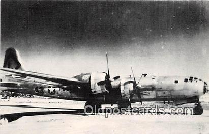 The B29, 1945 Harmon Field, Guam Unused