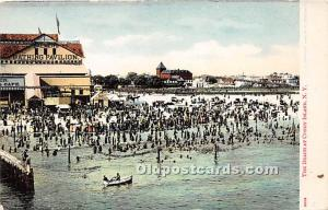 Amusement Park Postcard Post Card The Beach Coney Island, New York, NY, USA U...