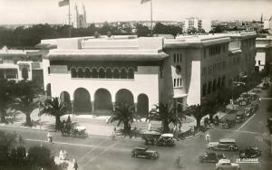 Morrocco - Casablanca. Post Office - RPPC