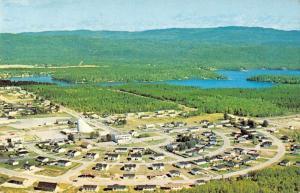 St David de Falardeau Quebec Canada Aerial View Vintage Postcard J77129