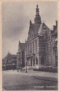 Academie, GRONINGEN, Netherlands, 1910-1920s