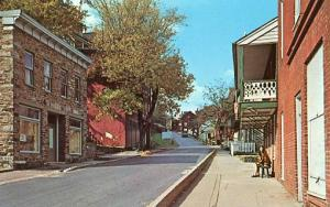 WV - Harper's Ferry, Looking Up High Street
