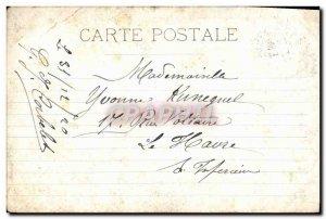 Old Postcard Marseille Palais Longchamp