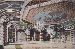 Potsadam- Sanssouci, Neus Palais, Muschelsaal, Bradenburg, Germany, 00-10s
