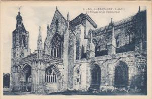 France Dol de Bretagne La Porche de la Cathedrale