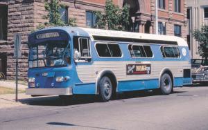 MTA #2 Bus , Marquette , Michigan , 1983