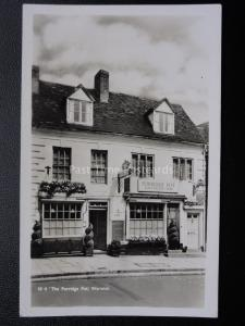 Warwick THE PORRIDGE POT Luncheons & Teas c1959 RP Postcard by The Porridge Pot