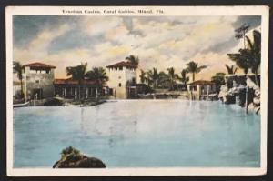 Venetian Casino Coral Gables Miami FL 1926 J.N. Chamberlain
