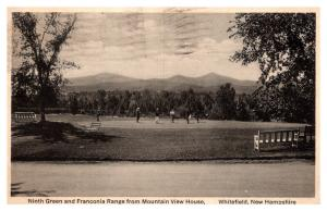 New Hampshire  Whitefield  ,  Mountain View House , 9th Green