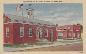 Massachusetts Wareham Post Office And Makepeace Building