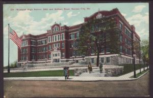 Westport High School,Kansas City,MO Postcard