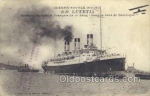 SS Lutetia Ship Postcard Postcards  SS Lutetia