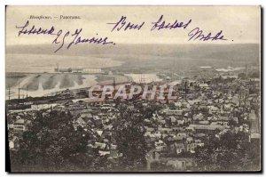 Postcard Old Honfleur Panorama