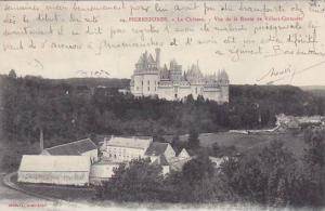 France Pierrefonds Le Chateau Vue de la Route de Villers-Cotterets 1905