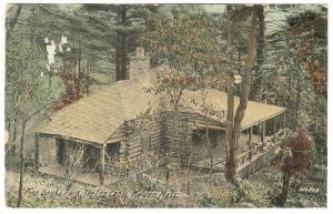 Pine Banks Park, The Log Cabin, Malden, Massachusetts, PU-1912