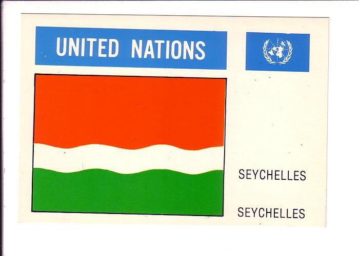 Seychelles, Old Flag, United Nations