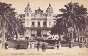 Monaco Monte Carlo La Facade du Casino