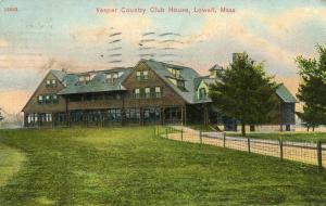 MA - Lowell. Vesper Country Club House