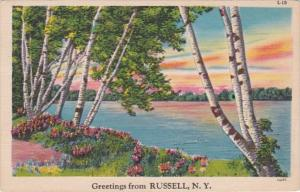 New York Greetings From Russell