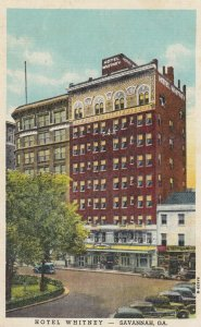 SAVANNAH , Georgia , 1930-40s ; Hotel Whitney