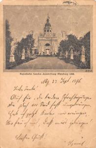 Nurnberg Germany Bayerische Landes Ausstellung Expo 1896 Antique Postcard J77579