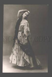 082973 Belle ZABOTKINA Russian BALLET Star DANCER Old PHOTO