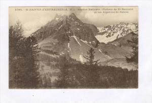 St-Martin d'Entraunes (A.-M).-Station Estivale-Plateau de St-Barnabe et les A...