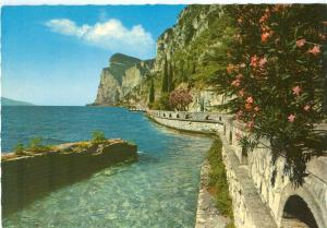 Italy, Lago di Garda, Gardesana Occidentale, used Postcard