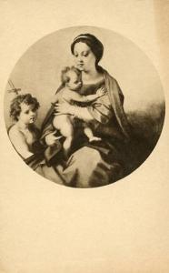 DC - Washington, National Gallery of Art, Madonna and Child with the Infant S...