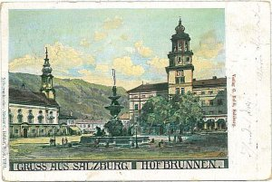 VINTAGE POSTCARD: AUSTRIA  - GRUSS AUS: SALZBURG 1899