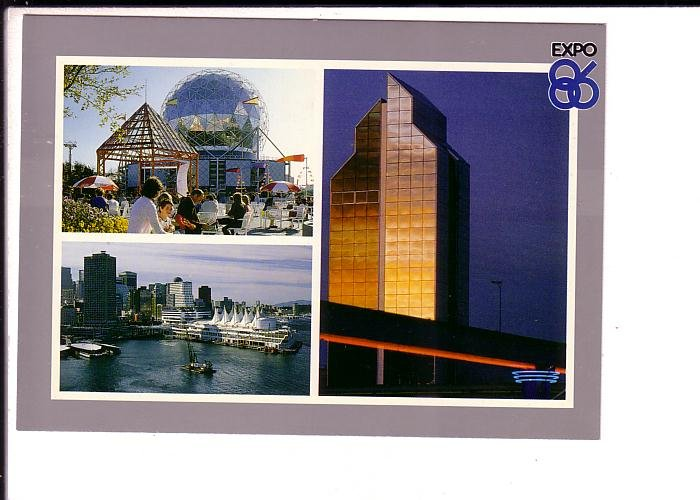 Threeview, Expo 86 World's Fair,  Vancouver, British Columbia,