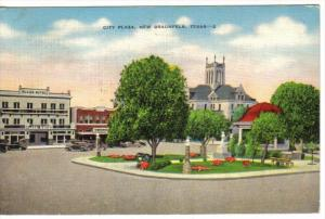 City Plaza , NEW BRAUNFELS , Texas , PU-1947