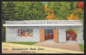 Presbyterian Book Store Montreat North Carolina Unused c1950s