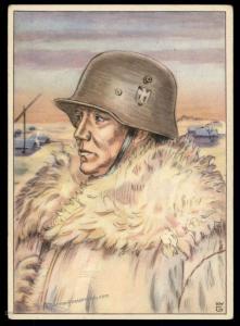 3rd Reich FP16463 Germany Unit Propaganda Card 91246