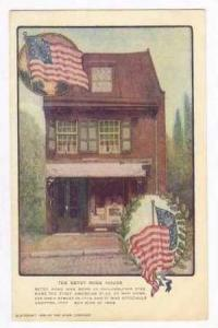 The Betsy Ross House, Where the first American flag was made,Pennsylvania, 00...