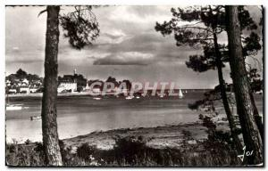 Benodet Modern Postcard Ste Marine View to sea