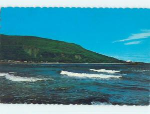 Pre-1980 TOWN VIEW SCENE Gaspe Nord Quebec QC p9585