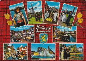 Netherlands Souvenir Of Holland Multi View