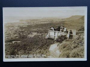 Australia NSW THE BULLI LOOKOUT South Coast ILLAWARRA RANGE c1930's RP Postcard