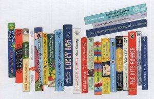 The Kite Runner Language Of Flowers Best Book Club Bookshelf Art Postcard