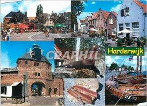 Modern Postcard Harderwijk
