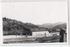 RPPC, Old Barn, Renfroo Valley KY