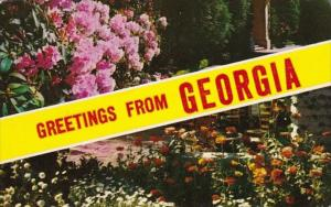 Greetings From Geogia 1962