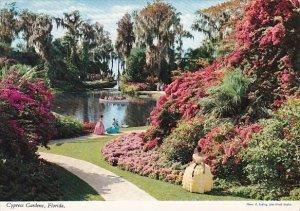 Florida Cypress Gardens Brilliant Colors 1971