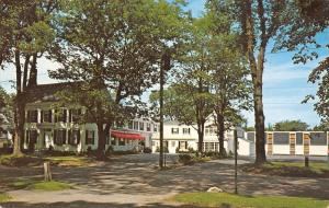 Brunswick Maine~The Stowe House And Motor Inn~1960 Postcard