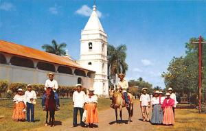 Panama Old Vintage Antique Post Card Montunos of OCU Province of Los Santos U...
