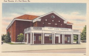 FORT KNOX , Kentucky , 30-40s ; Post Theatre #1