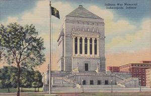 Indiana Indianapolis Indiana War Memorial 1954