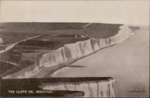 the cliffs nr. brighton england
