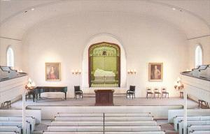 Virginia Lexington Interior Lee Chapel Washington and Lee University